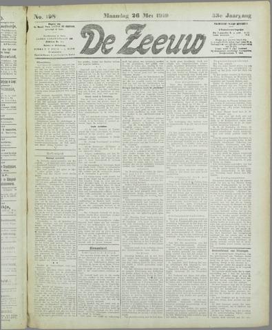 De Zeeuw. Christelijk-historisch nieuwsblad voor Zeeland 1919-05-26