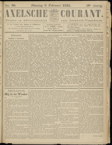 Axelsche Courant 1923-02-06