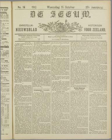 De Zeeuw. Christelijk-historisch nieuwsblad voor Zeeland 1912-10-16
