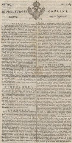 Middelburgsche Courant 1763-09-20