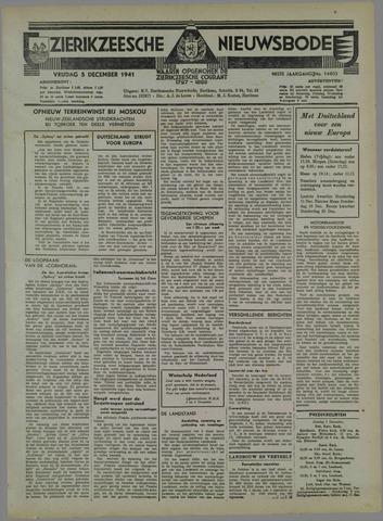 Zierikzeesche Nieuwsbode 1941-11-06