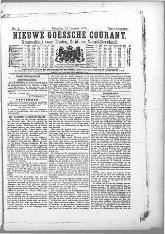 Nieuwe Goessche Courant 1875-01-12