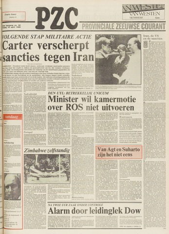 Provinciale Zeeuwse Courant 1980-04-18
