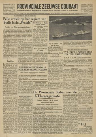 Provinciale Zeeuwse Courant 1951-08-01