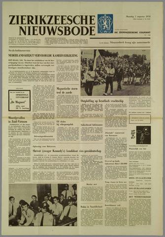 Zierikzeesche Nieuwsbode 1972-08-07