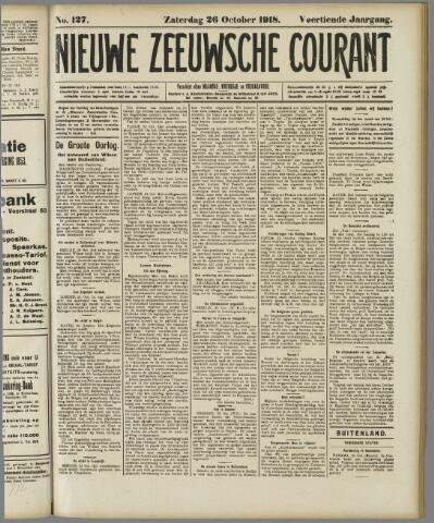 Nieuwe Zeeuwsche Courant 1918-10-26