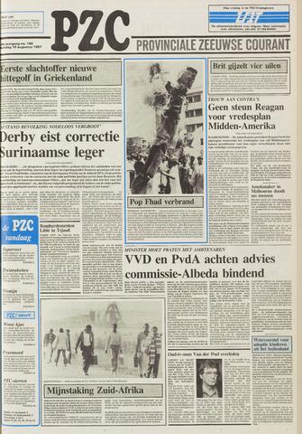 Provinciale Zeeuwse Courant 1987-08-10