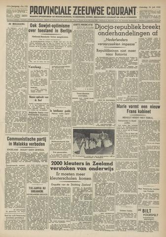 Provinciale Zeeuwse Courant 1948-07-24