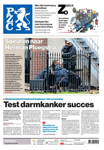Provinciale Zeeuwse Courant 2019-03-27