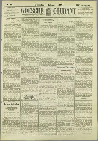 Goessche Courant 1932-02-01