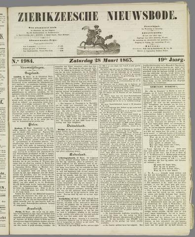 Zierikzeesche Nieuwsbode 1863-03-28