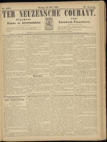 Ter Neuzensche Courant. Algemeen Nieuws- en Advertentieblad voor Zeeuwsch-Vlaanderen / Neuzensche Courant ... (idem) / (Algemeen) nieuws en advertentieblad voor Zeeuwsch-Vlaanderen 1897-05-25