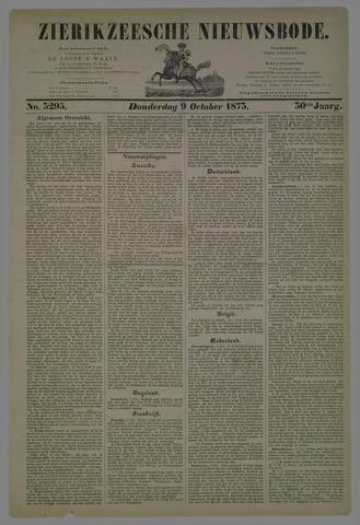 Zierikzeesche Nieuwsbode 1873-10-09
