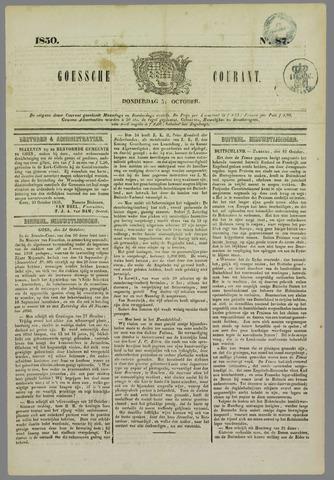 Goessche Courant 1850-10-31