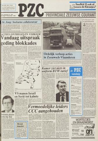 Provinciale Zeeuwse Courant 1985-12-17