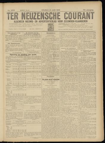 Ter Neuzensche Courant. Algemeen Nieuws- en Advertentieblad voor Zeeuwsch-Vlaanderen / Neuzensche Courant ... (idem) / (Algemeen) nieuws en advertentieblad voor Zeeuwsch-Vlaanderen 1935-06-21