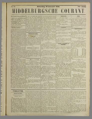 Middelburgsche Courant 1919-01-18