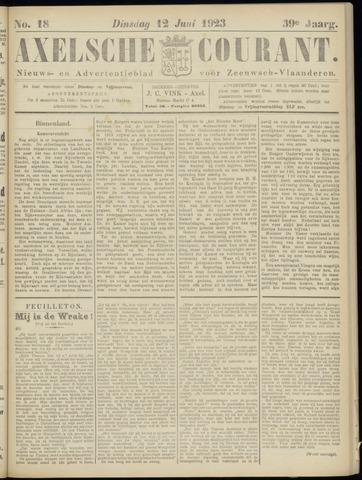 Axelsche Courant 1923-06-12