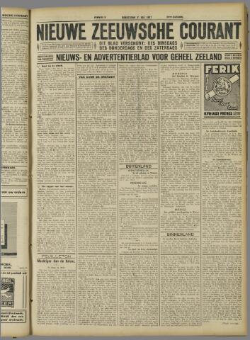 Nieuwe Zeeuwsche Courant 1927-07-21