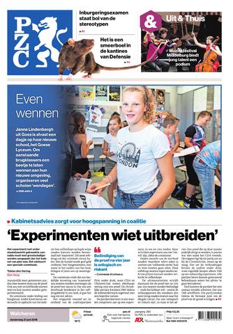 Provinciale Zeeuwse Courant 2018-06-21