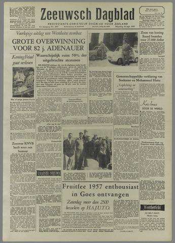 Zeeuwsch Dagblad 1957-09-16