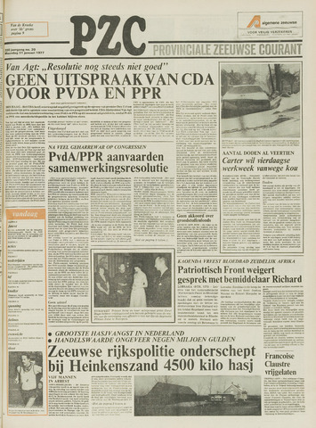 Provinciale Zeeuwse Courant 1977-01-31
