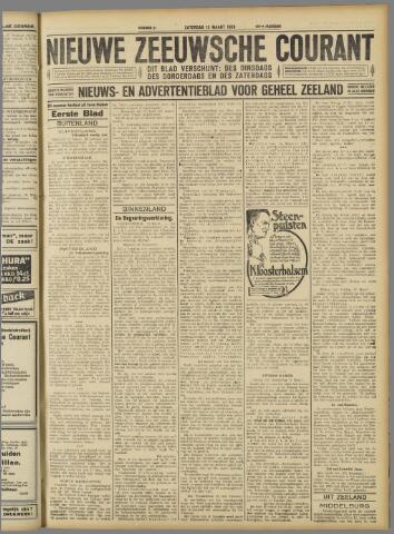 Nieuwe Zeeuwsche Courant 1926-03-13