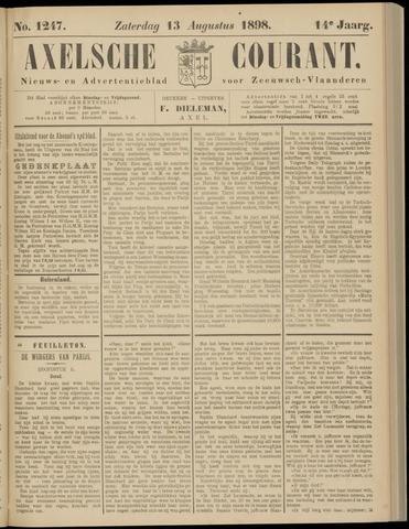 Axelsche Courant 1898-08-13