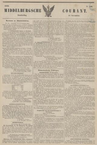 Middelburgsche Courant 1852-11-18
