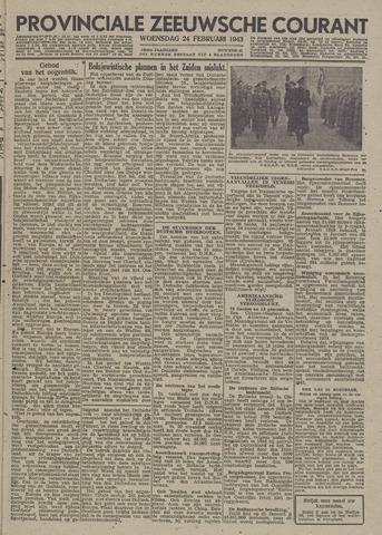 Provinciale Zeeuwse Courant 1943-02-24