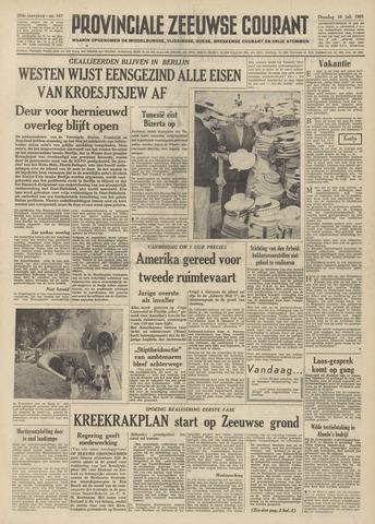 Provinciale Zeeuwse Courant 1961-07-18