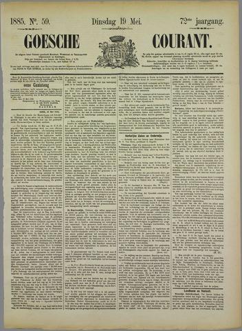 Goessche Courant 1885-05-19