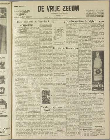 de Vrije Zeeuw 1959-11-05