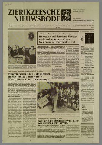 Zierikzeesche Nieuwsbode 1985-04-19
