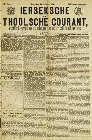 Ierseksche en Thoolsche Courant 1901-01-26