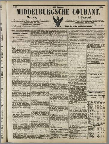 Middelburgsche Courant 1903-02-09