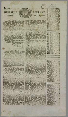 Goessche Courant 1826-09-18