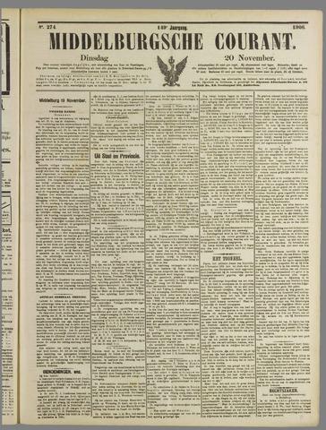 Middelburgsche Courant 1906-11-20