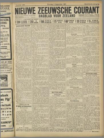 Nieuwe Zeeuwsche Courant 1921-09-06