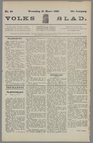 Volksblad 1923-03-21