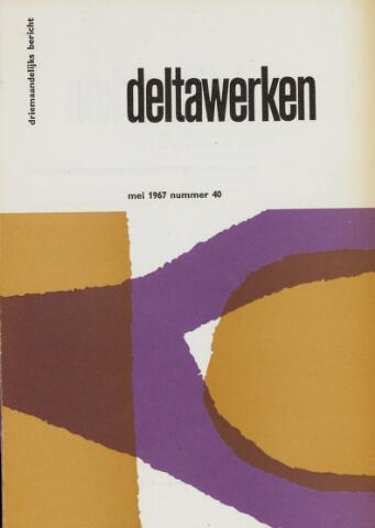 Driemaandelijks bericht Deltawerken 1967-05-01