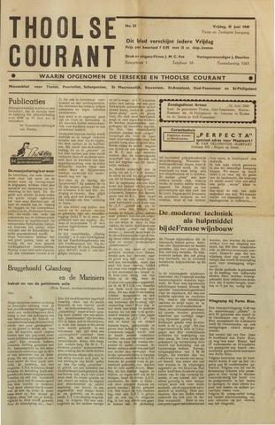 Ierseksche en Thoolsche Courant 1949-06-10
