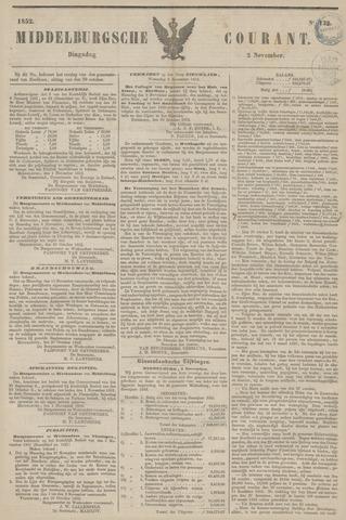 Middelburgsche Courant 1852-11-02