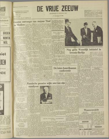 de Vrije Zeeuw 1961-08-10