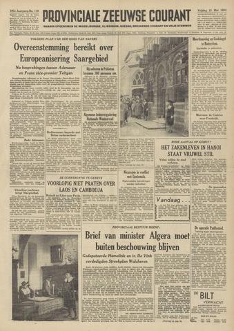 Provinciale Zeeuwse Courant 1954-05-21
