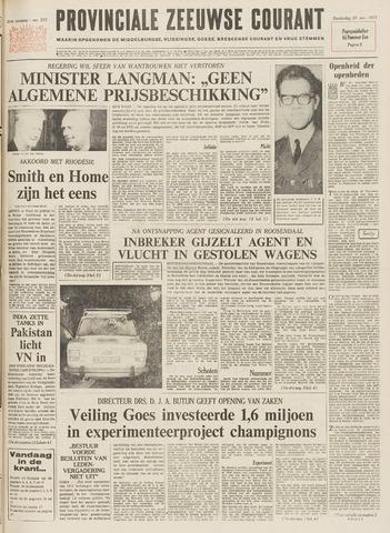 Provinciale Zeeuwse Courant 1971-11-25