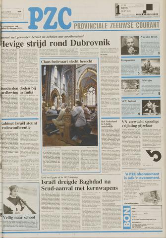 Provinciale Zeeuwse Courant 1991-10-21