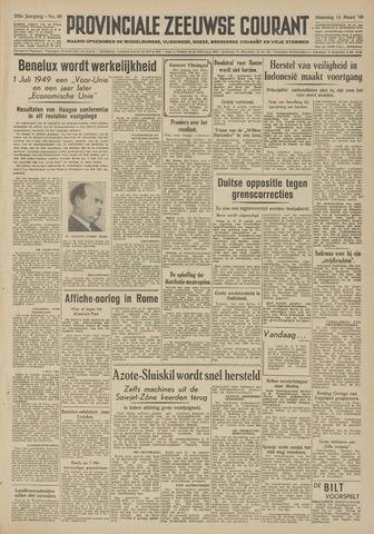 Provinciale Zeeuwse Courant 1949-03-14