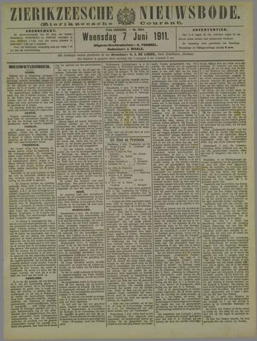 Zierikzeesche Nieuwsbode 1911-06-07