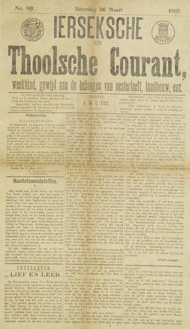 Ierseksche en Thoolsche Courant 1887-03-26